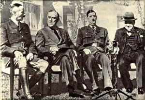 ANFA - Giraud, Roosevelt, de Gaulle, Churchill