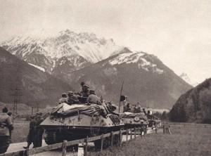 En plein Tyrol, sur la route du col de l'Arlberg