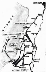 La bataille pour Colmar