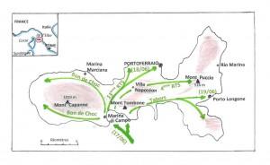 Conquête de l'ile d'Elbe
