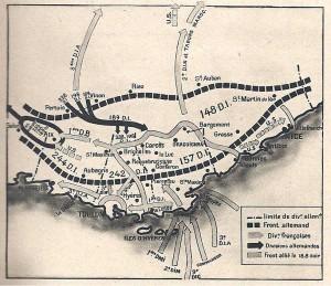 La bataille de Provence