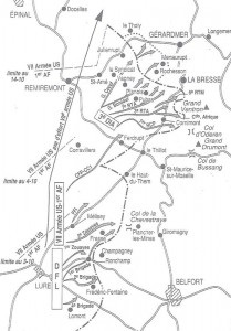 Les opérations dans les Vosges du 25 septembre au 8 novembre 1944