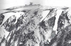 L'hôtel au sommet du Hohneck (1366m)
