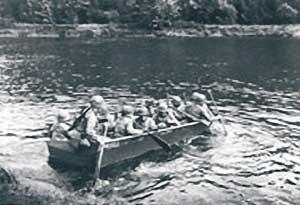 Navigation du bateau M2