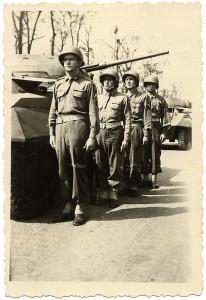 L'équipage du char