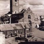 L'église de Sigolsheim détruite