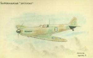 Spitfire - Dessins de Guy Plégat +