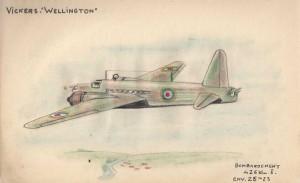 Vickers Wellington - Dessins de Guy Plégat +